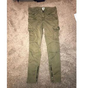 Tna green cargo pants